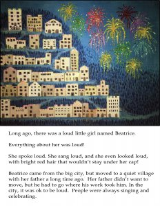 Sample Page from Little Loud Beatrice
